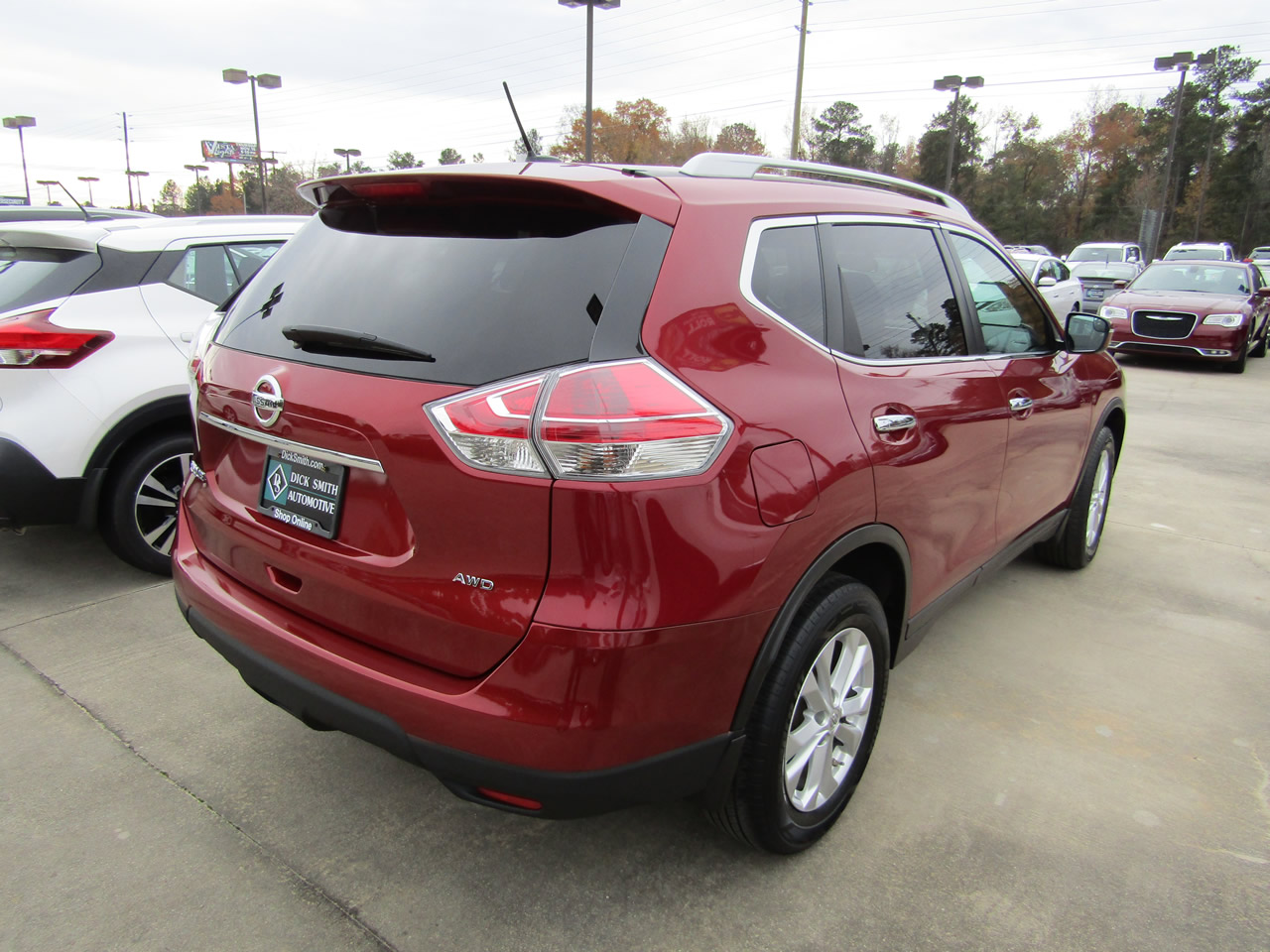 used 2015 nissan rogue sv awd vin 5n1at2mv6fc909909 columbia sc 29210 dick smith nissan of. Black Bedroom Furniture Sets. Home Design Ideas