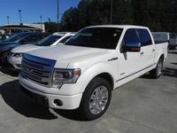USED 2014 FORD F-150 SUPERCREW PLATINUM