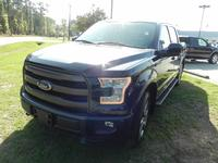 USED 2015 FORD F-150 SUPERCREW LARIAT 4WD